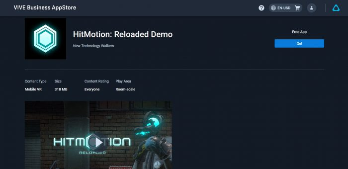 hitmotion reloaded vive focus 3